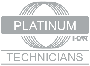 A1 Custom Auto Body is I-CAR Platinum Class Certified